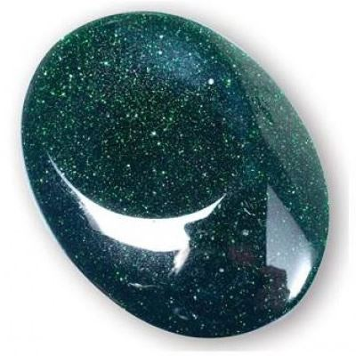 Green Goldstone Thumb Stone