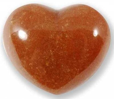 Red Aventurine Heart Large