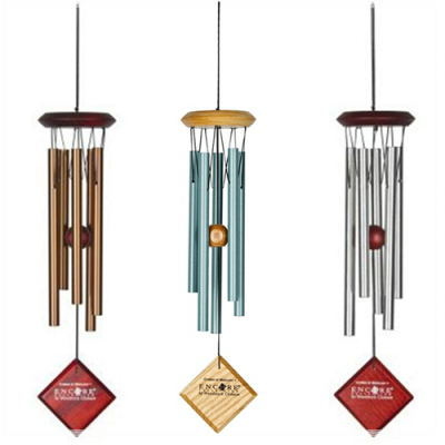 Gift Set of Three Mercury Chimes From Woodstock + Free Mini Chime