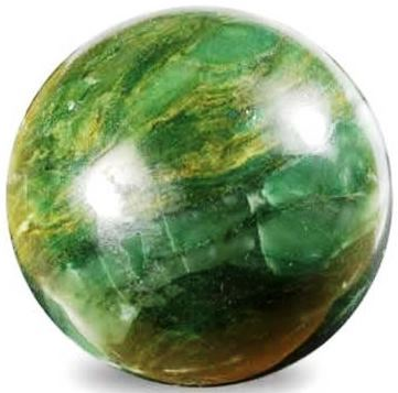 African Jade Sphere Large 45mm