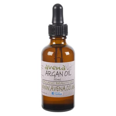 Argan Oil Cold Pressed Organic (Argania spinosa) 50ml Bottle & Pipette