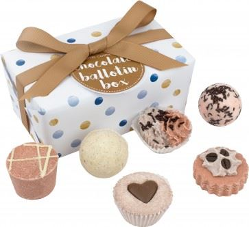 Ballotin Chocolate Bath Gift Box