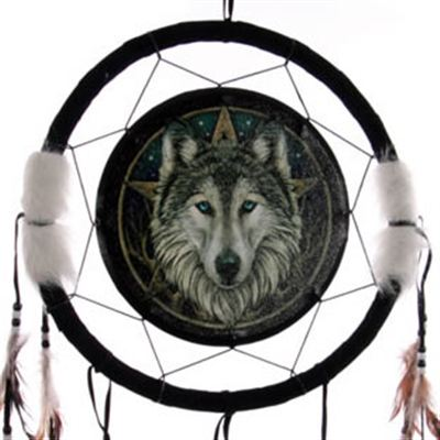 Wolf & Star Dream Catcher Large
