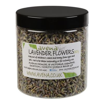 French Lavender Dried Flowers 30g Jar