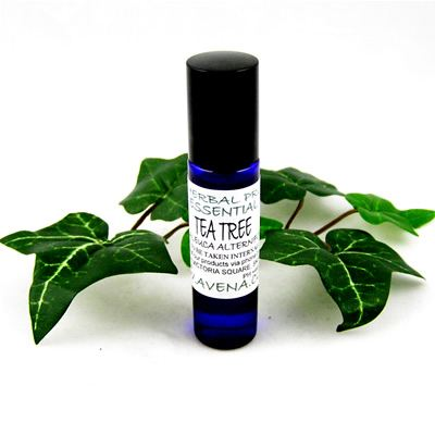 Essential Oil Of Tea Tree Ideal For Insect Bites & Stings Roller Ball 10ml