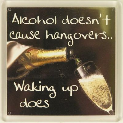 Alcohol doesn