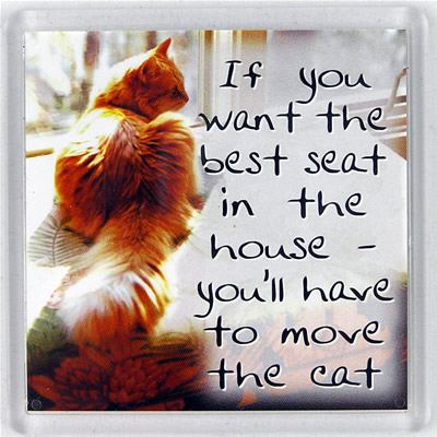 If you want the best seat in the house... Fridge Magnet 109