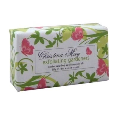 Gardeners Exfoliating  Soap Bar 200g by Christina May