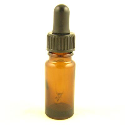 Glass Bottles Amber Kingston with Glass Pipette Screw On Cap 10ml
