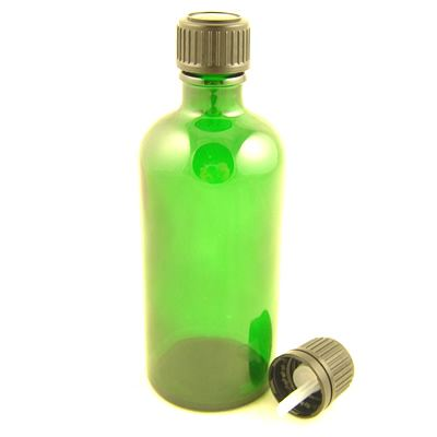 Glass Bottles Green Durham With Tamper Evident Dropper Cap 50ml