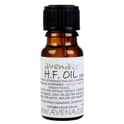 HF Oil - a natural hay fever treatment