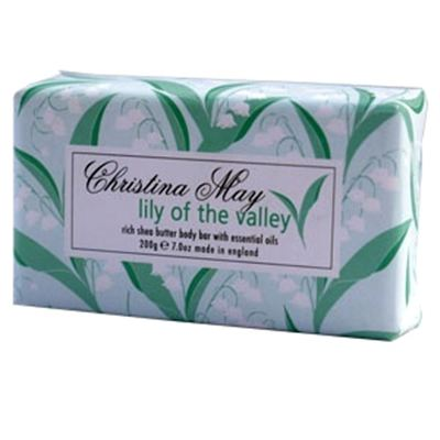 Lily of the Valley Soap Bar 200g by Christina May