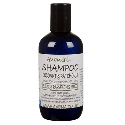 Shampoo with Coconut & Patchouli - SLS & paraben free shampoo