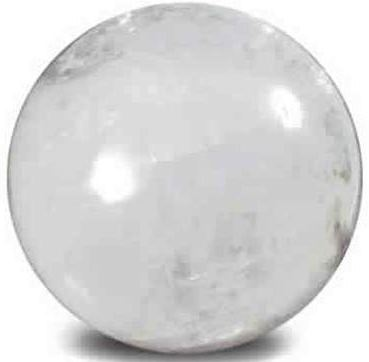 White Calcite Sphere Large 45mm