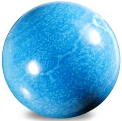 Blue Howlite Sphere 45mm