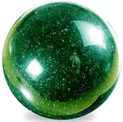 Green Goldstone Sphere 45mm