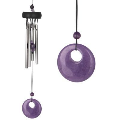 Amethyst Precious Stone Wind Chime from Woodstock
