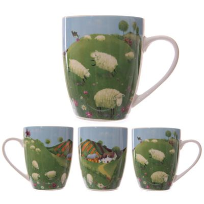 Sheep in the Countryside Mug