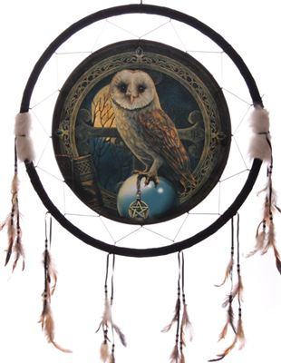 Owl Dream Catcher Extra Large