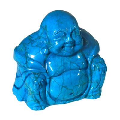 Blue Howlite Buddha 50mm
