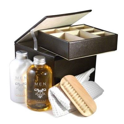 Gents Gift Set in Watch and Cufflink Storage Box