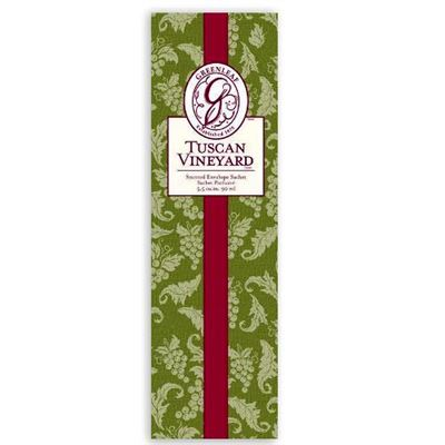 Tuscan Vineyard Scented Sachet Slim