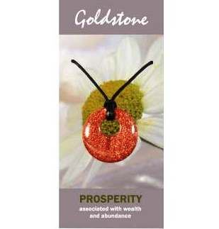 Goldstone Agogo Necklace Natural Jewellery for Prosperity