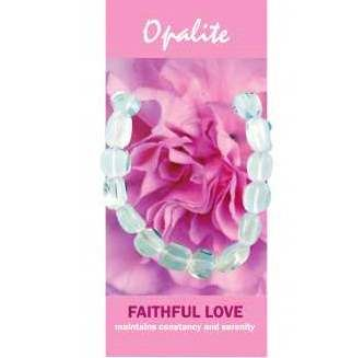 Opalite Bracelet Natural Jewellery for Faithful Love