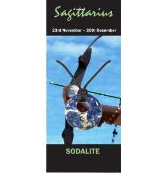 Sagittarius Natural Jewellery Agogo Necklace