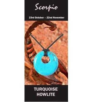 Scorpio Natural Jewellery Agogo Necklace