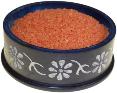 Orange Oil Burner Simmering Granules Extra Large Jar