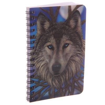 Wolf 3D Notebook by Lisa Parker