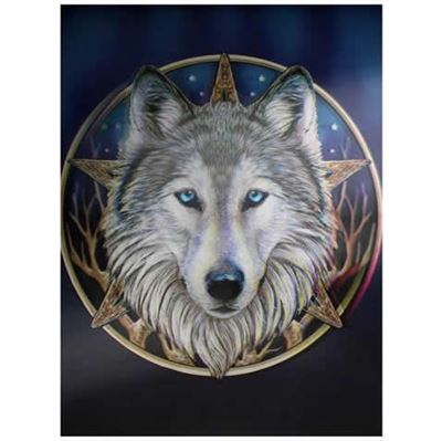 Wolf Head Star 3D Picture