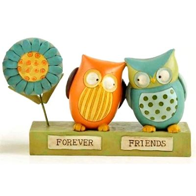 Forever Friends Owl Block