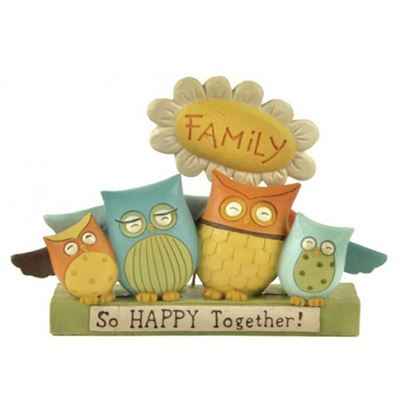 So Happy Together - Family Owl Block