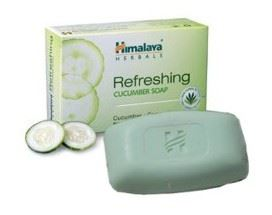 Cucumber and Coconut Refreshing Herbal Soap 75g
