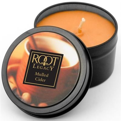 Mulled Cider 30 Hour Root Legacy Candle in a Tin