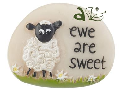 Ewe Are Sweet Decorative Sheep Pebble