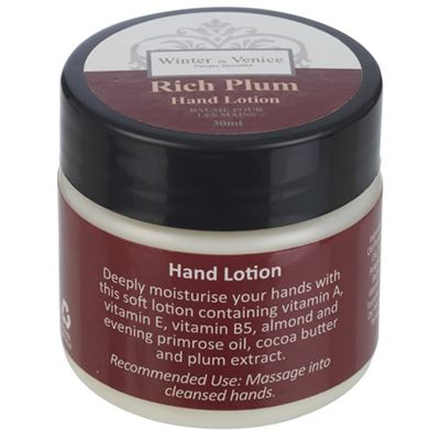 Rich Plum Hand Lotion 30ml