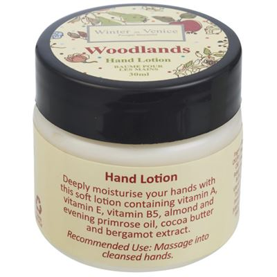 Woodlands Hand Lotion 30ml