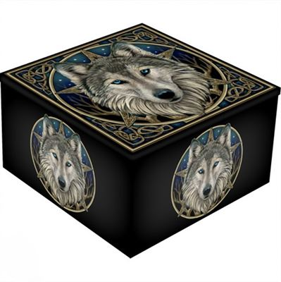 Wolf & Star Mirror Box