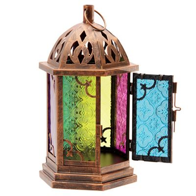 Moroccan Style Lantern Medium with Dome Top