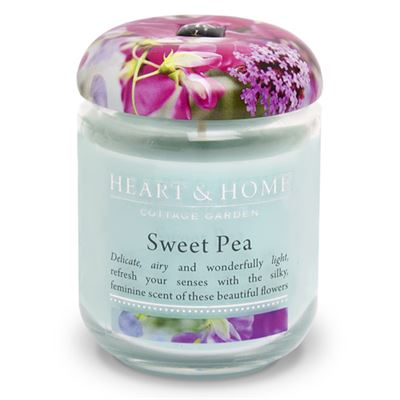 Sweet Pea Candle in Jar 30 Hours