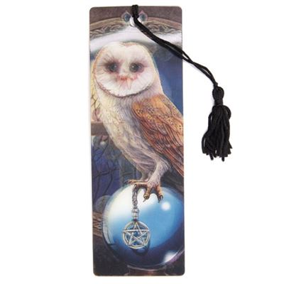 Owl Spell Keeper 3D Bookmark by Lisa Parker