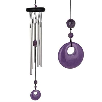 Amethyst Chakra Wind Chime Large From Woodstock