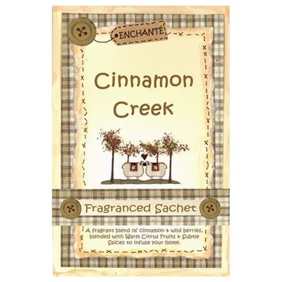Cinnamon Creek Fragranced Sachet