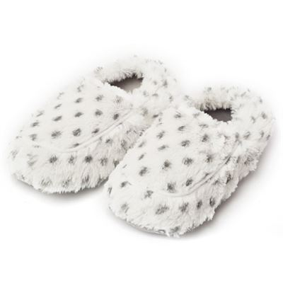 Microwavable Slippers Snowy