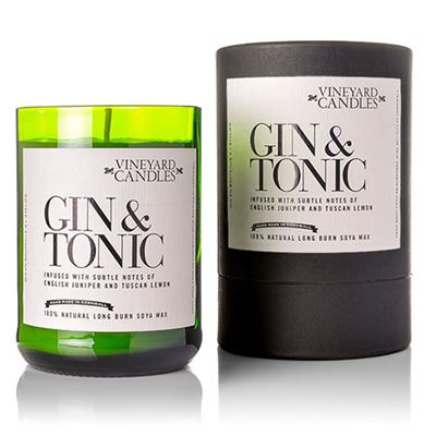 Gin & Tonic Candle in Gift Drum