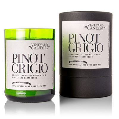 Pinot Grigio Candle in Gift Drum