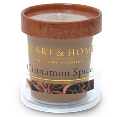 Cinnamon Spice Heart & Home Votive Candle
